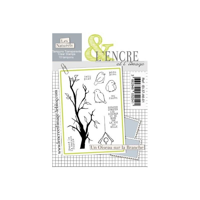Tampons L'Encre & l'Image - Un Oiseau sur la Branche