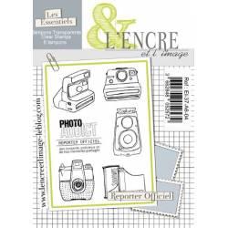 Tampons L'Encre & l'Image - Reporter Officiel