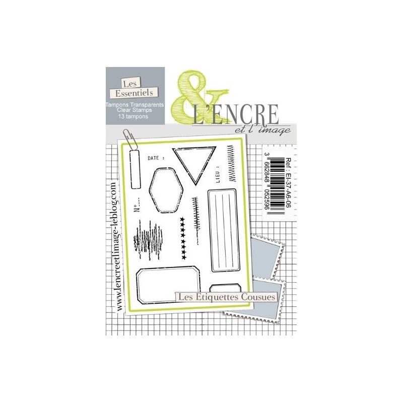Tampons L'Encre & l'Image - Les Etiquettes Cousues