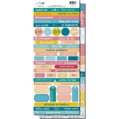 Planche de mots - DIY & Cie - Tendance zen