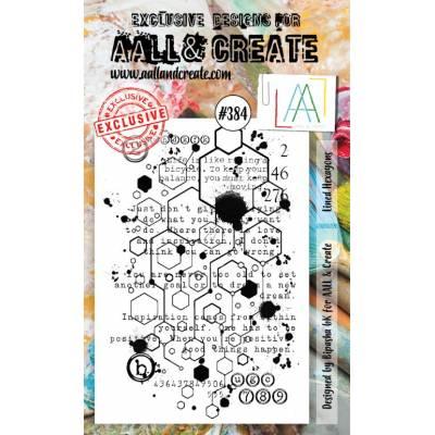 AALL & Create Stamp - 384 - Alvéoles