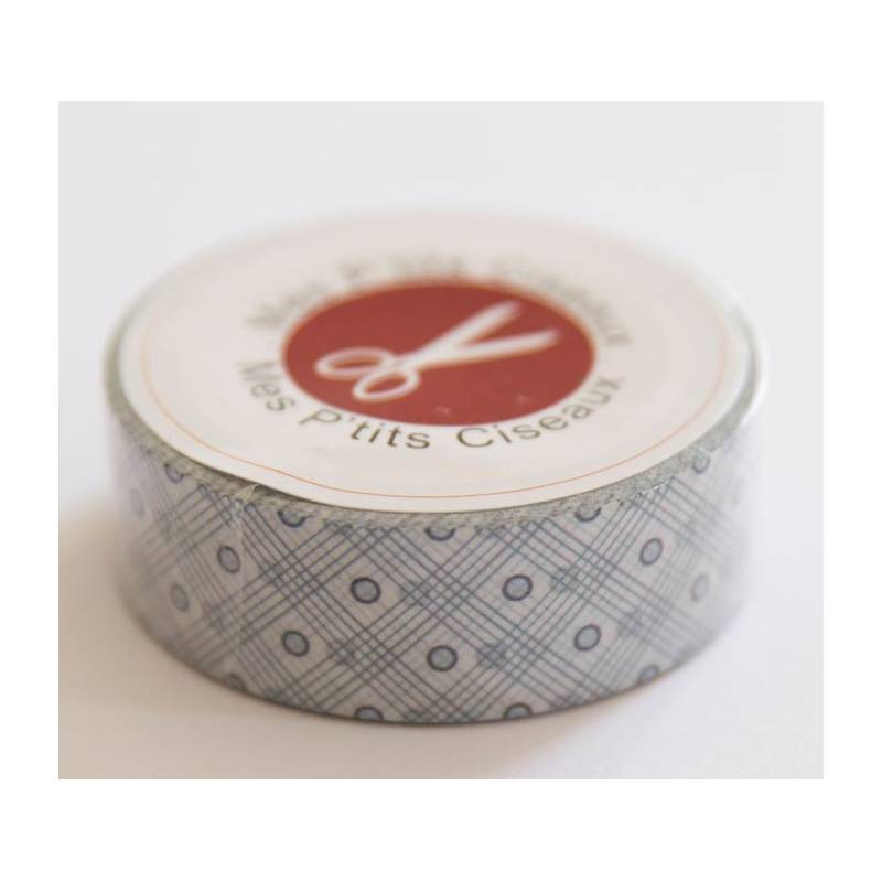 Masking Tape - Mes P'tits Ciseaux - Graphic & Blue