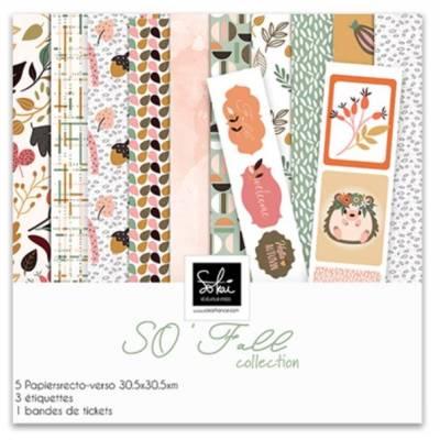 Pack papier 30x30 - Sokai - So' Falll