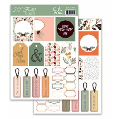 Planches d'étiquettes Sokai - So' Special