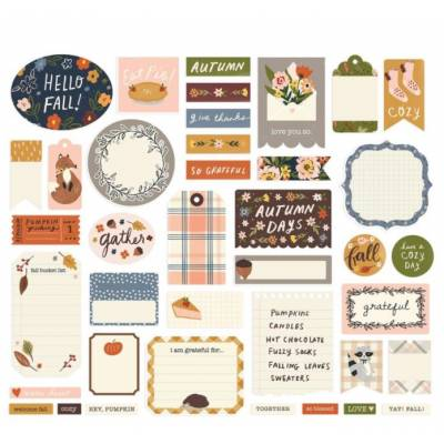 Die Cuts - Simple Stories - Cozy Days