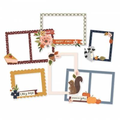 Chipboard Cadres - Simple Stories - Cozy Days