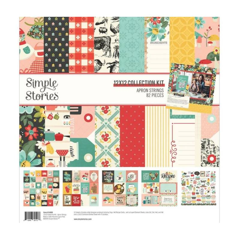 Pack 30x30 - Simple Stories - Apron Strings - Recette