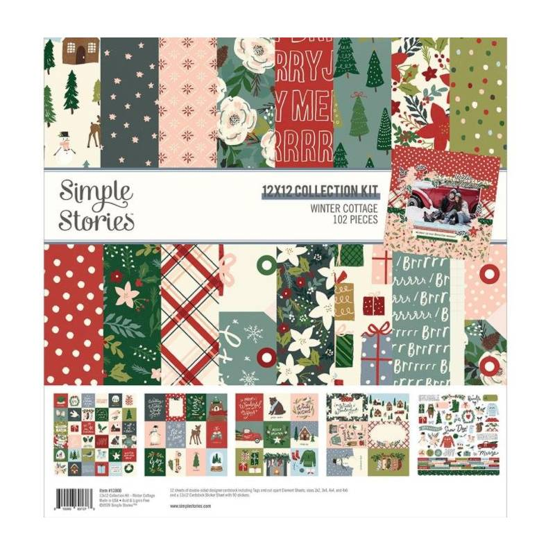 Pack 30x30 - Simple Stories - Winter Cottage