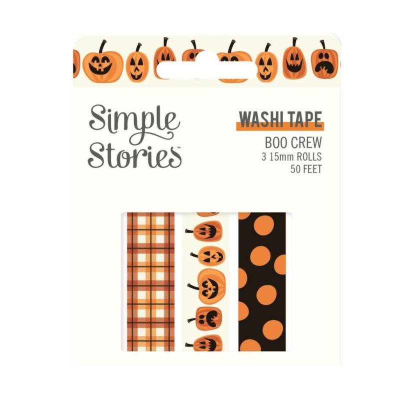 Washi Tape - Simple Stories - Boo Crew
