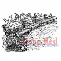 Tampon - Deep Red - Parc benches