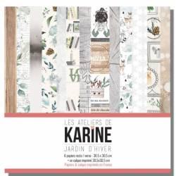 Pack Papiers 30 x 30 - Jardin d'Hiver
