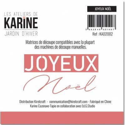 Die - Collection Jardin d'Hiver - Joyeux NOEL
