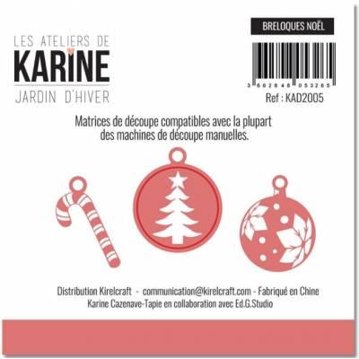 Die - Collection Jardin d'Hiver - Breloques de Noël