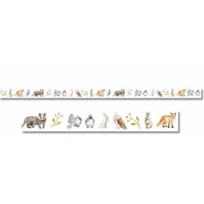 Masking Tape - Jardin d'hiver - Petits Animaux