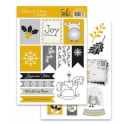 Planches d'étiquettes Sokai - Moments d'hiver