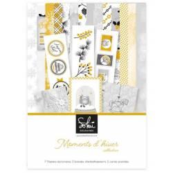Pack papier A4 - Sokai - Moments d'hiver