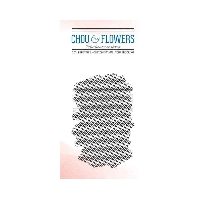 Tampons Clear - Chou & Flowers - Fond Alvéoles