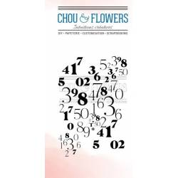 Tampons Clear - Chou & Flowers -