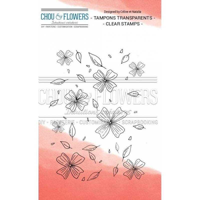 Tampons Clear - Chou & Flowers - Pétales volants