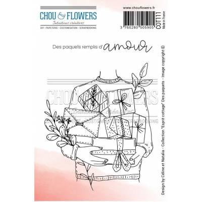 Tampons EZ - Chou & Flowers - Des paquets