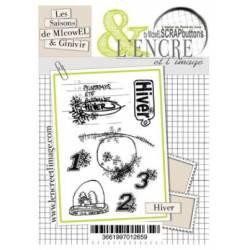 Tampons L'Encre & l'Image - Les Fantaisies de MIcowEL et GInivIR - Nostalgie