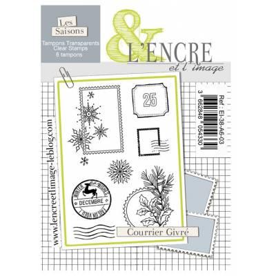 Tampons L'Encre & l'Image - Courrier givré