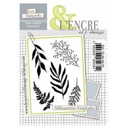 Tampons L'Encre & l'Image - Silhouettes Végétales