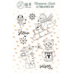 Tampons clear - HA.PI Little Fox - HAPI à la neige