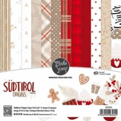 ModaScrap - Paper 15.2x15.2 - Noël traditionnel du Tyrol