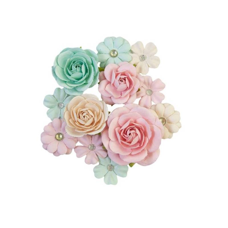 Prima Flowers - Fleurs Mulberry - Sugar Cookie Pink Jolly