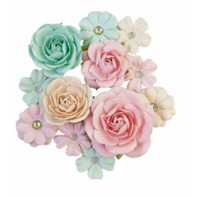 Prima Flowers - Fleurs Mulberry - Sugar Cookie Pink Jolly