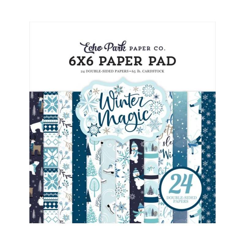 Pack Papier 15x15 - Echo Park - Winter Magic