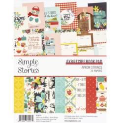 Pack de papiers 15x20cm - Simple Story - Recettes
