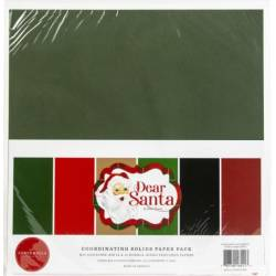 Pack 30x30 - Carta Bella - Dear Santa - Unis