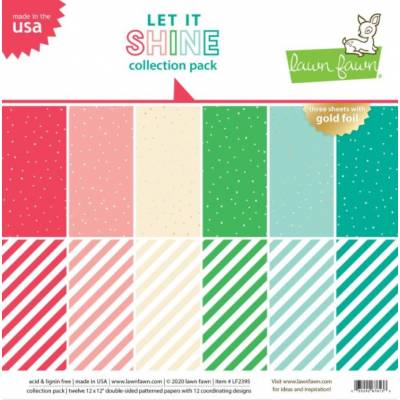 Pack 30x30 - Lawn Fawn - Let it Shine