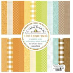 Pack 30x30 - Doodlebug design Inc - Pumpkin spice