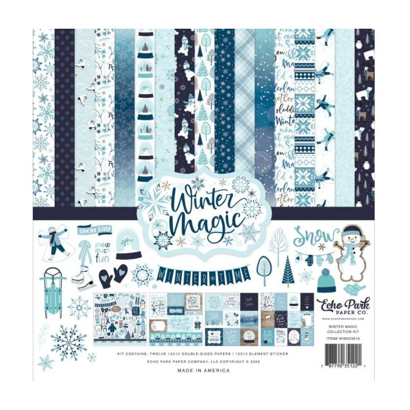Pack 30x30 - Echo Park - Winter Magic