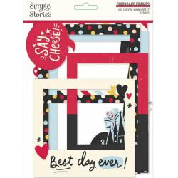 Chipboard Cadres - Simple Stories - Say Cheese Main Street