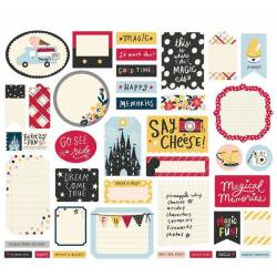 Die Cuts Journal - Simple Stories - Say Cheee Main Street