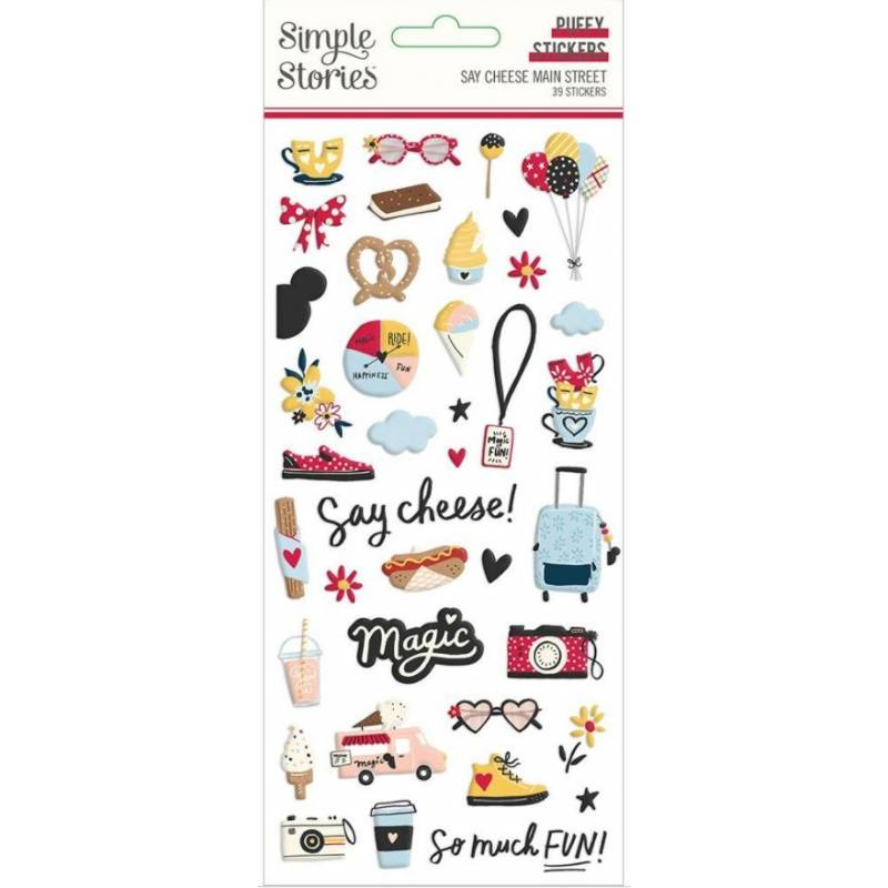 Stickers Relief- Simple Stories - Say Cheese Main Street