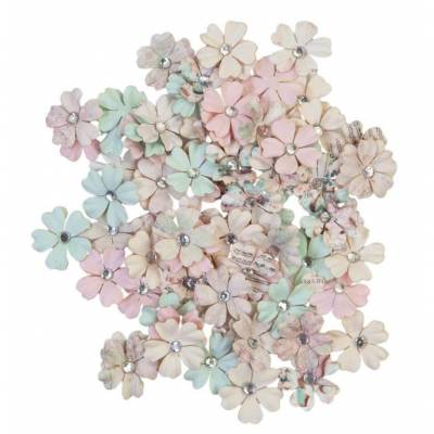 Prima Flowers - Fleurs Mulberry - Sugar Cookie White Christmas