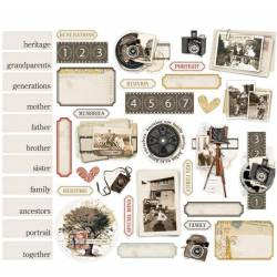 Die Cuts Journal - Simple Stories - Simple Vintage Ancestry