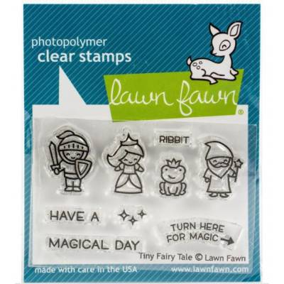 Tampons clear Lawn Fawn - Tiny Fairy Tales