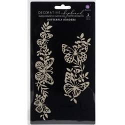 Sujets en carton bois Prima - Butterfly Borders