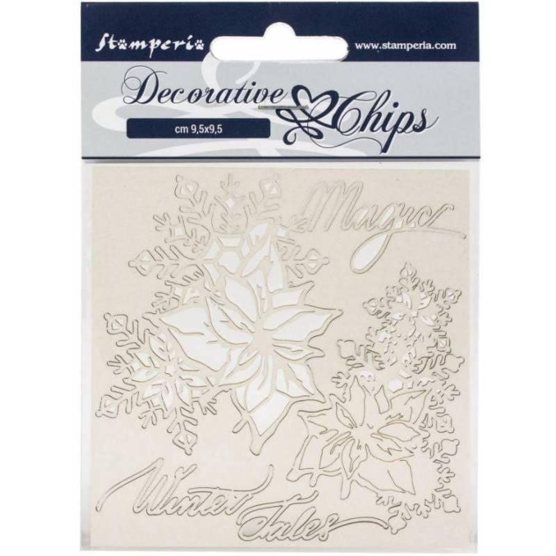 Sujets en carton bois Prima - Beautiful Fleur