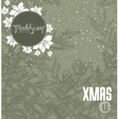ModaScrap - Paper Pack 30.5 cm x 30.5 cm - Xmas Edition limitée