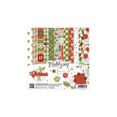 ModaScrap - Paper Pack 30.5 cm x 30.5 cm - C'est Noël