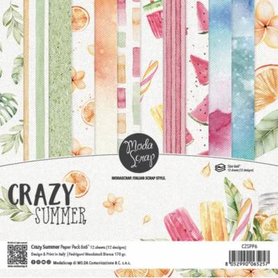 ModaScrap - Paper Pack 15.2x15.2 - Eté Fruité
