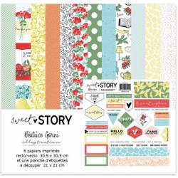 Pack 30x30 - Béatrice Garni - Sweet Story