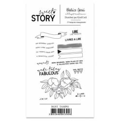 Tampons Béatrice Garni - Sweet Story 1